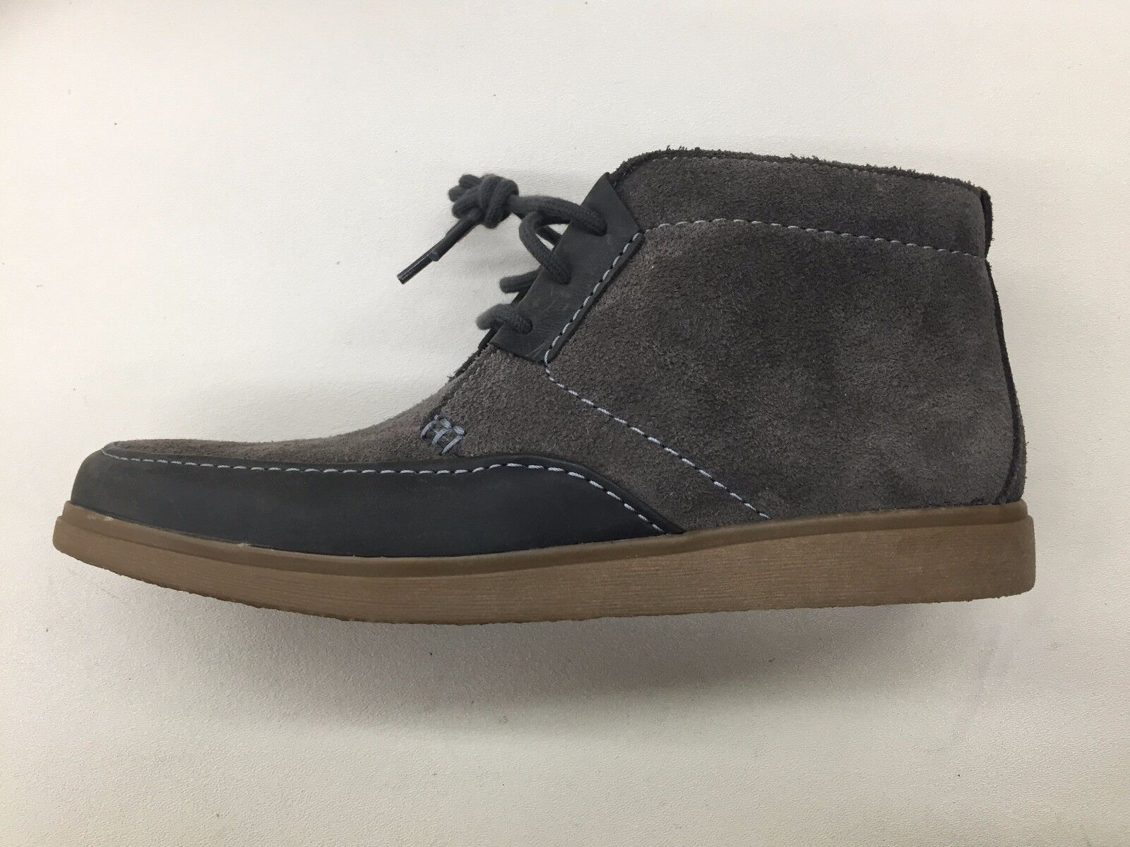Clarks Navy Original Brayer Sport Moccasin Navy Clarks Marine Suede Mens Shoes 63307 1704-97 e859f7