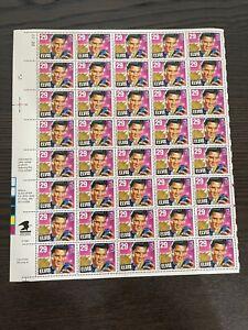 ELVIS PRESLEY (1992) - Full Mint Sheet of 40 U.S. Postage Stamps (29¢) #22222