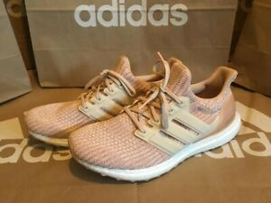 Details about NEW Adidas Ultra Boost Men's size 10 pink rose gold tan white MSRP $180