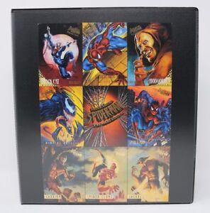 1995-Marvel-Fleer-Ultra-Spider-Man-Premiere-Edition-Complete-Base-Set-VG-NM