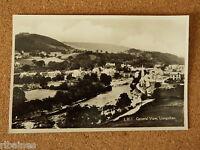 Vintage Postcard: General View, Llangollen, Wales, Dennis & Sons
