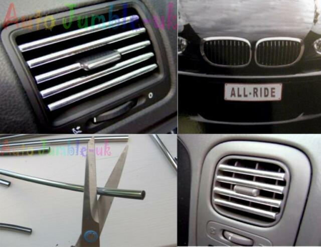 seat leon fr cupra tdi chrome effect air vent car styling grill strip