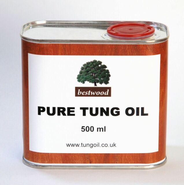 Pure Natural Tung Oil, Bestwood, 500 ml, Finest Quality, INTRODUCTORY PRICE