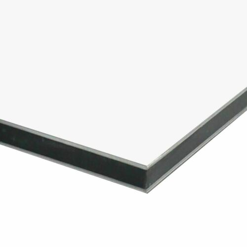 """x 24 inches x 48 inches Matte White 3mm Aluminum Composite Sheet 0.118/"""""""