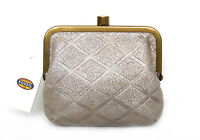 $50 Fossil Sofia Coin Purse, Leather, Shimmery Champagne