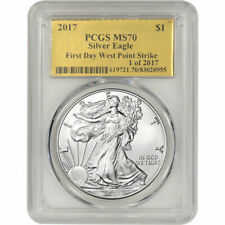 2010 W 1 oz Proof American Silver Eagle PCGS PR69 DCAM SKU37125