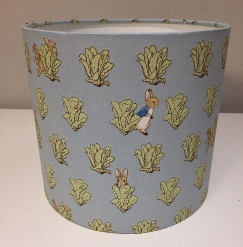 Beatrix Potter Handmade abat-jour 20 cm plafond ou lampe Crèche Peter Rabbit