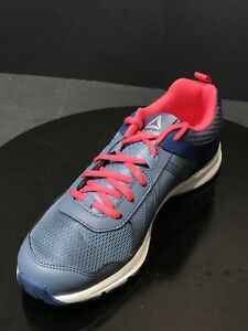 Reebok-ALMOTIO-4-0-Running-Blue-Sneaker-Kids-School-Training-CN4227-Size-US-6-5