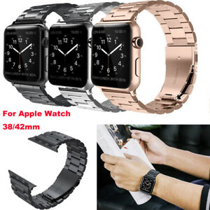 For-Apple-Watch-Series-3-2-1-Stainless-Steel-Wrist-iWatch-Band-Strap-38-42mm-US