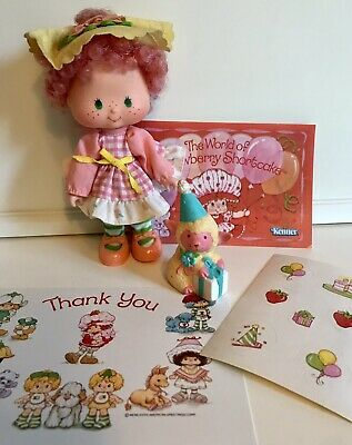 Sour Grapes and Dregs the Snake Strawberry Shortcake Toy//TV Show Sticker