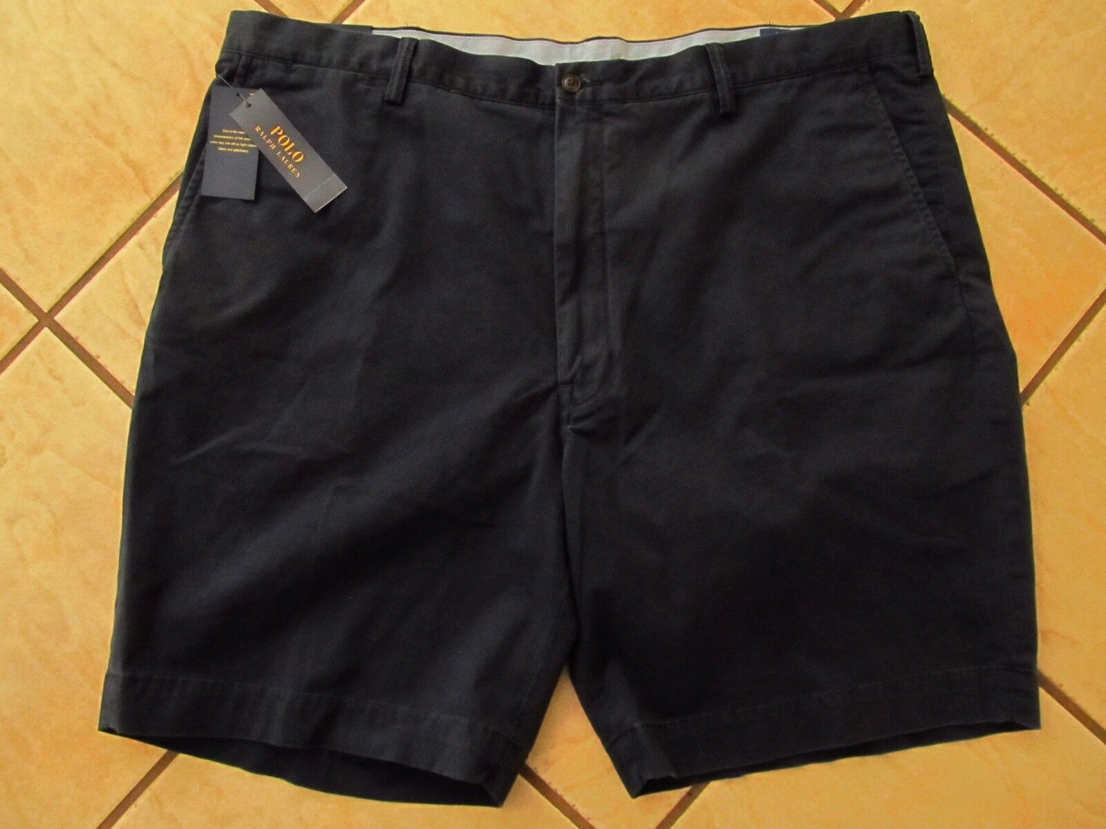 Polo Ralph Lauren Stretch Classic Fit 9  Shorts Mens Size 44B Nautical Ink NWT