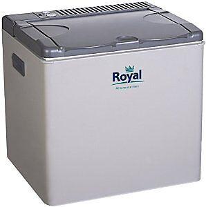 royal 3 way absorption camping fridge gas mains 12v cool. Black Bedroom Furniture Sets. Home Design Ideas