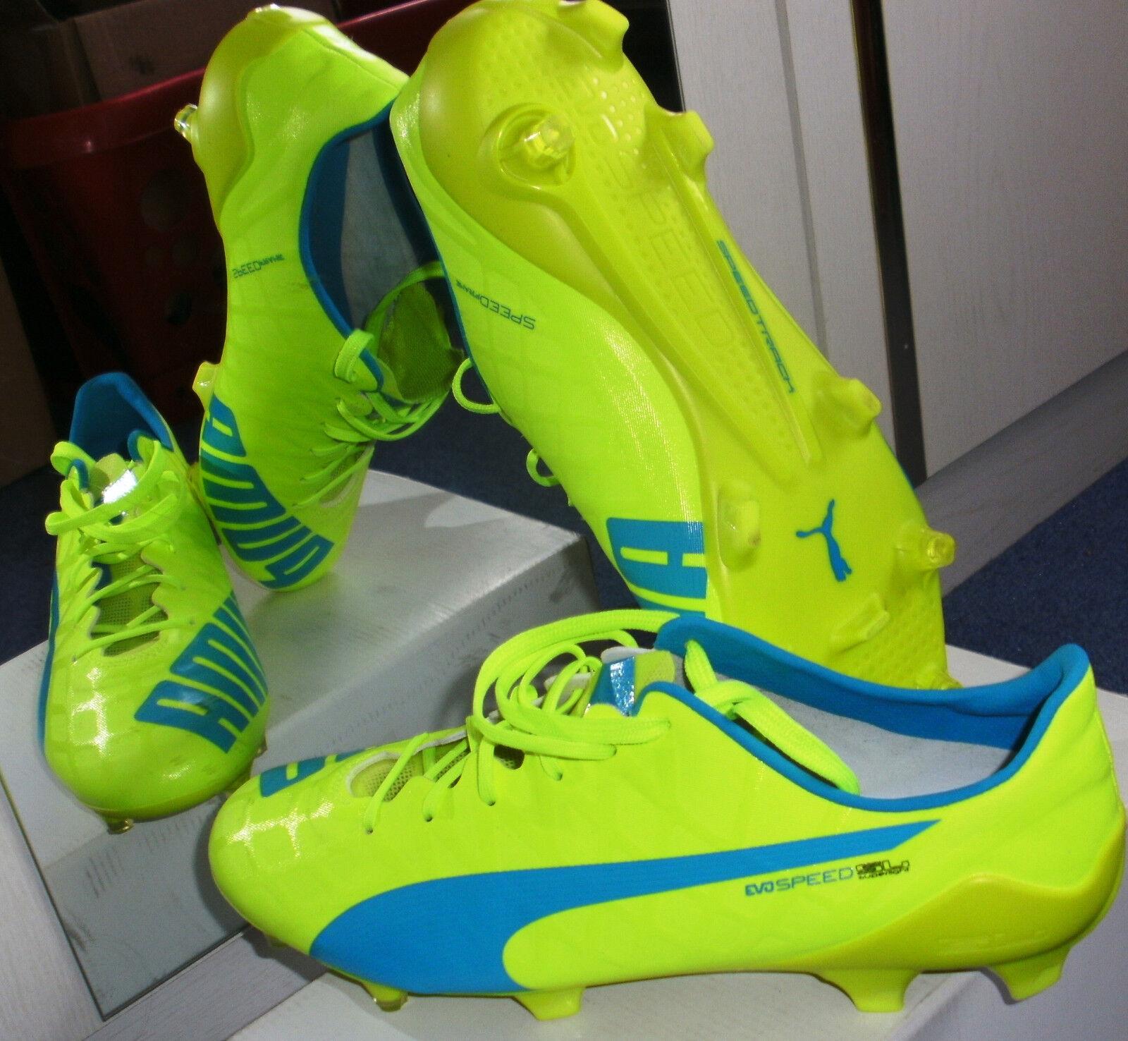 Neue Fußballschuhe Puma EvoSpeed SL FG, Gr. 44,5 = 10;  =