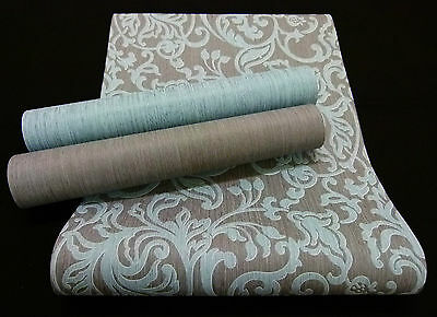 "modernes Design grau Vliestapete /""Ornament Tapete/"" schickes 13398- anthrazit"