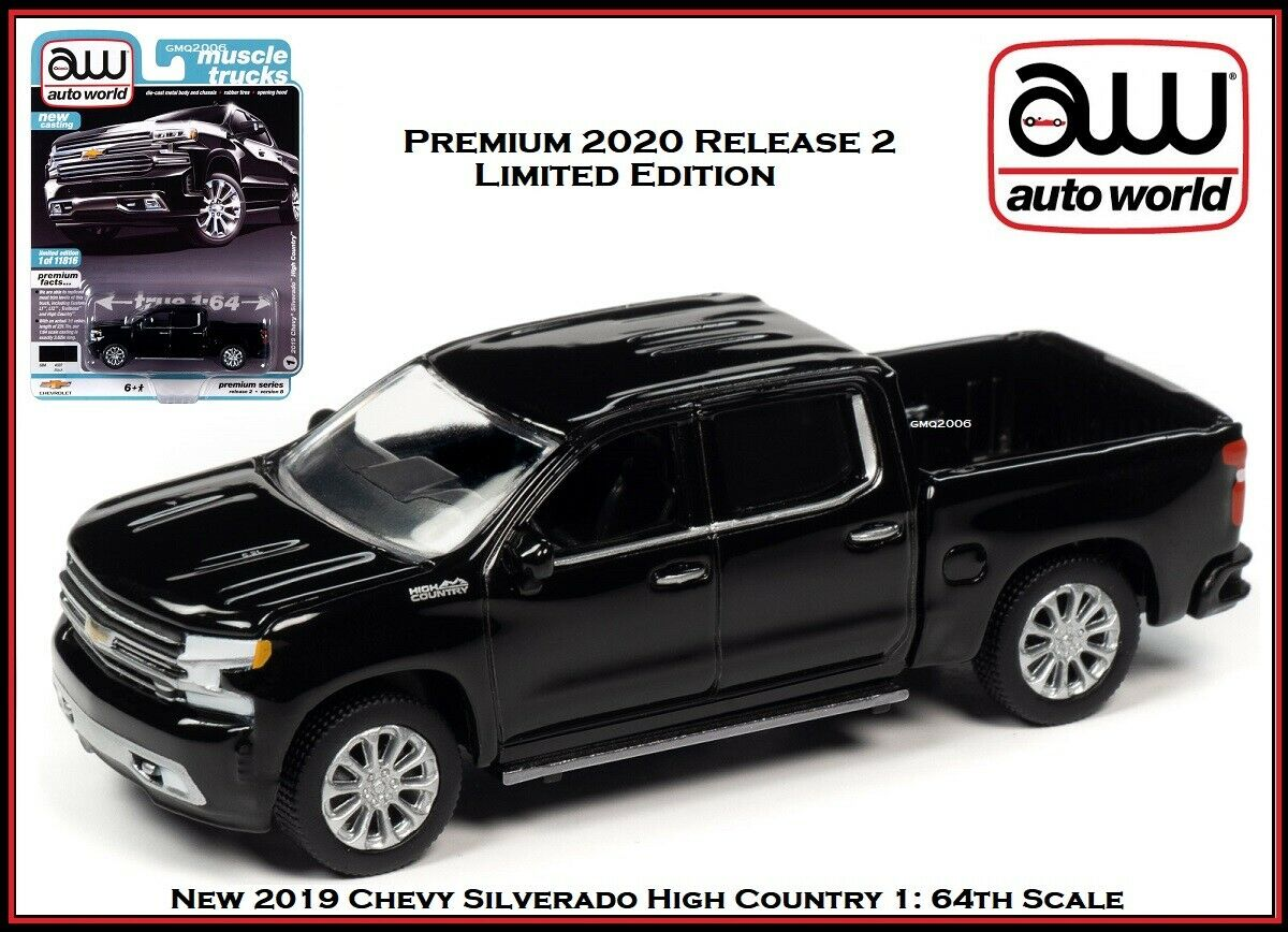 Generation Ab 2018 1//24 Welly Modell Auto m Chevrolet Silverado Pick-Up Weiss 4