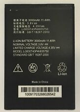 Replacement Battery for ZTE ZMAX 2 Grand S 2 Z958 AT&T 3000mAh Li3830T43P4H83575