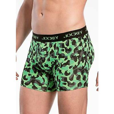 Jockey Mens Microfiber Performance Boxer Brief 2 Pack Underwear Briefs polyester