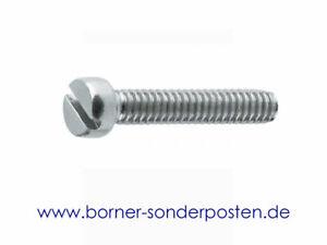 Zylinderschrauben-mit-Schlitz-DIN-84-M-6-x-25-4-8-Schlitzschrauben-verzinkt-M6
