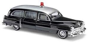 Busch-43458-HO-1-87-Cadillac-52-034-Begrafeniswagen-034-zwart