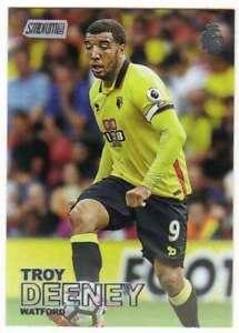 2016-17-Topps-Stadium-Club-Premier-League-Logo-Foil-28-Troy-Deeney