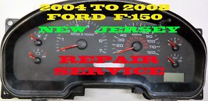 Details about 2004 to 2008 FORD F150 Instrument Cluster Repair Service 2005  2006