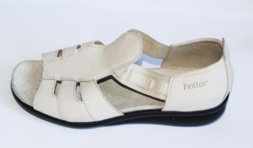 Uk4 Shoes 5 Flats Comfort 5 per Eu37 Hotter Brown donne Concepts le Khaki Beige Un74xCp