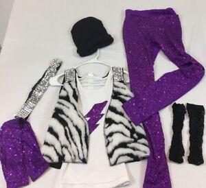 Dance Costume Hip Hop Dress Up Halloween Size LC