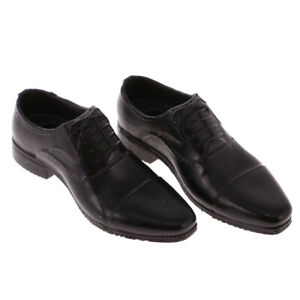 1//6 Scale Male Leather Shoes for 12inch Action Figure  Dragon DML