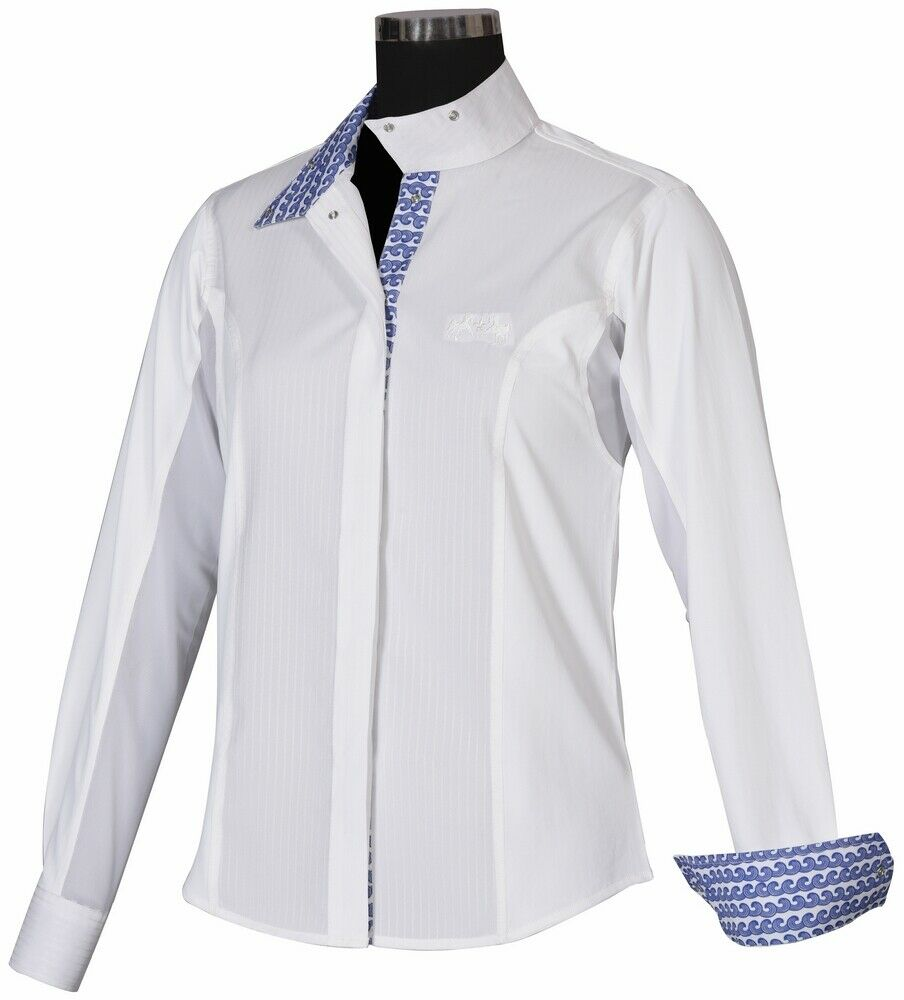 Equine Couture Ladies Waves Show Shirt