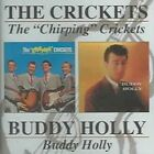 """The """"Chirping"""" Crickets/Buddy Holly by Buddy Holly (CD, Apr-2001, Beat Goes On)"""