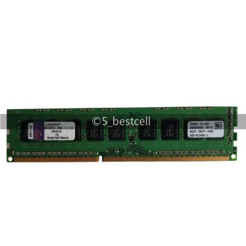 Kingston 16GB 2x 8GB DDR3 2RX8 1600MHz PC3-12800E 240pin ECC Memory Unbuffered