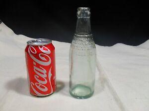 Vintage Embossed ~ Coca Cola Bottling Works 7 fl. oz. Bottle ~ York PA.