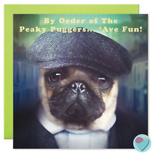Image Is Loading Birthday Cards Pug Dog Lover Dad Brother Sister