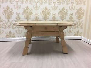 Voglauer Anno 1900 Tisch Jogltisch Couchtisch Massiv Landhaus Fichte