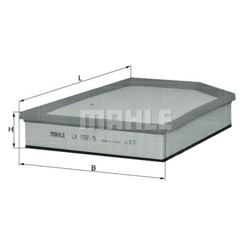 S80 Filtre à air element-mahle lx 1591//9 voiture-s/' adapte volvo S60 V70