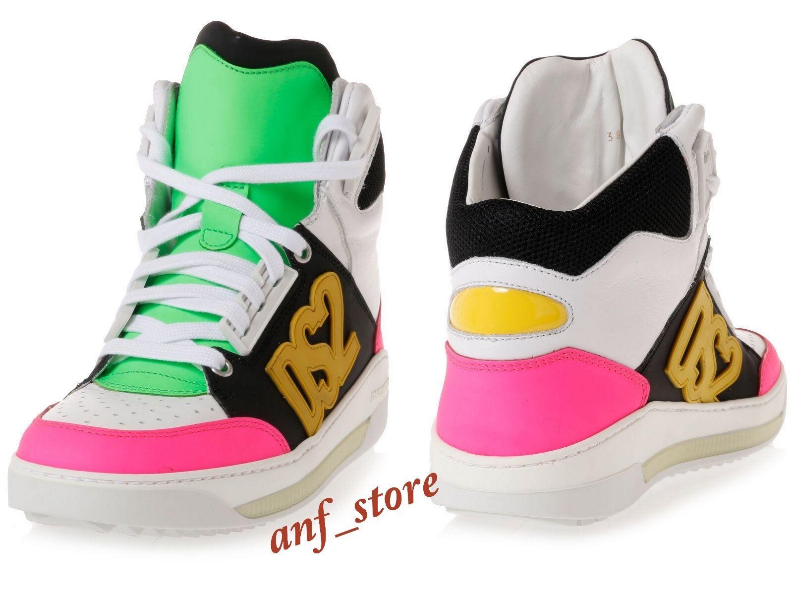 nouveau in Box DSQUArouge 2 High Top Sport Homme En Cuir mode sheakers chaussures 44 11  795 il