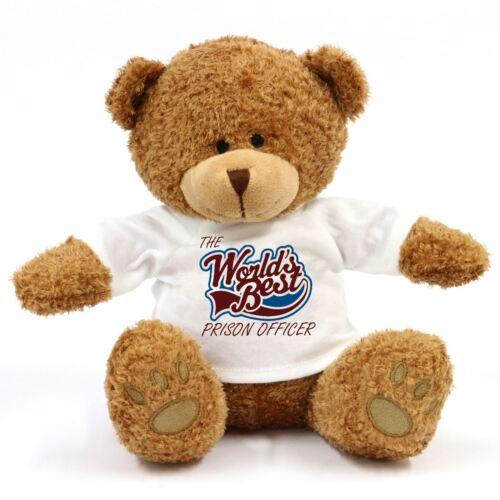 Les mondes meilleur agent pénitentiaire Teddy Bear