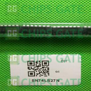9Pcs SN74LS27N Pdip-14 Logic Gates Triple 3-Input Positive-Nor ...