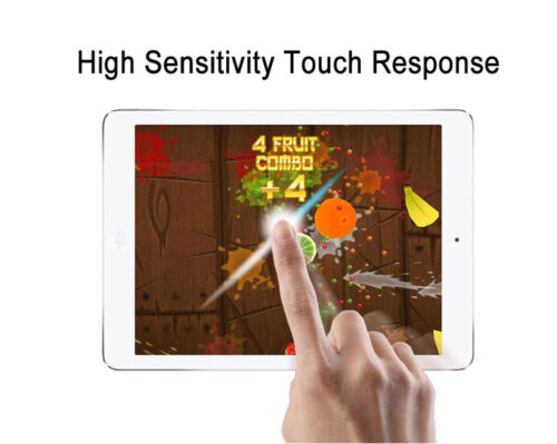 SOINEED Tempered Glass Screen Protector Shield For Apple iPad Air 1 Air 2 9.7
