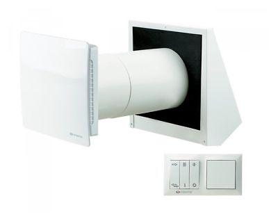 Clever Dezentrale Wohnraumlüftung , 50 M³/h, Twinfresh Ra1 Mit Steuerung Eine GroßE Auswahl An Modellen