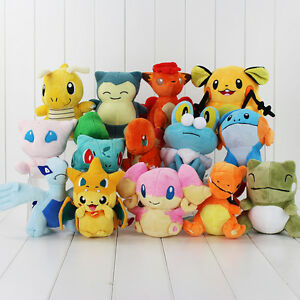 Rare-Pokemon-Collectible-Plush-Character-Soft-Toy-Stuffed-Doll-Teddy-Gift
