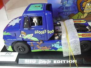 Fly Slot Réf.   201303 Sisu Sl 250 Scooby Doo édition spéciale pour camion