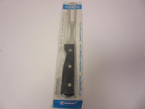 """Tramontina SaberTek 6/"""" Carving Fork Stainless Steel Dishwasher Safe New"""