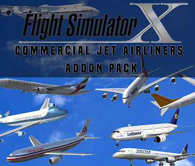 Flight Simulator X FSX Addon Bundle - Commercial Jet Airliners - 20+ NEW  PLANES! | eBay