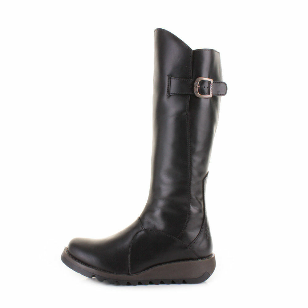 Fly London Mol 2 Black Boots shoes