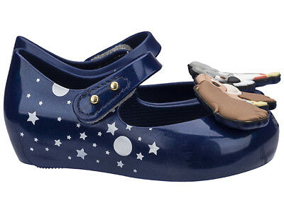 toddler size 5-12 NEW Mini Melissa Ultragirl Lady and the Tramp Blue Pearly
