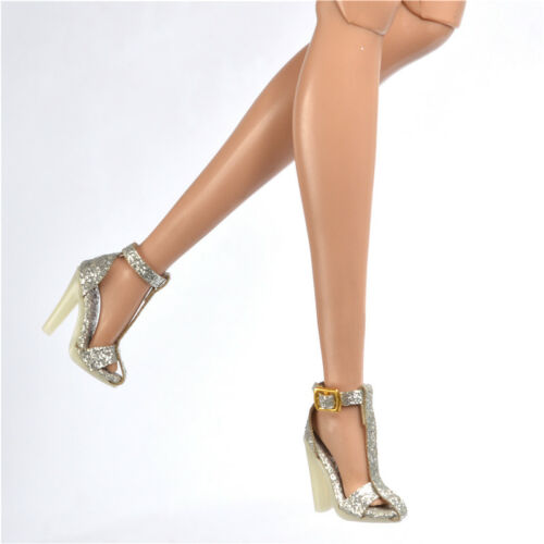 Sherry Fashion Royalty Ⅱ FR2 Poppy Parker shoes Silver Sandals 51-FR2-02B