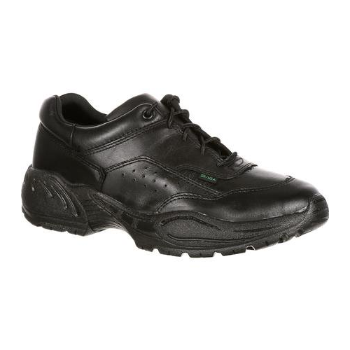 più economico Rocky 911 4  Athletic Oxford nero Polishable Leather Leather Leather Postal Duty scarpe USA Made  designer online