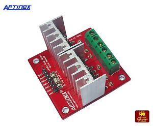 2pcs Aptinex L6203 5a Dual Full Bridge Motor Driver For