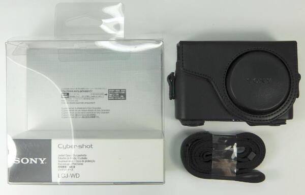 Bien éDuqué Sony Lcj-wd étui Simili Cuir Pour Dsc-wx350 Et 300